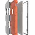 Tradies Orange / Grey Heavy Duty Robot Defender Case For iPhone X / XS - 2