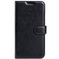 Black Premium Litchi Wallet Textured Wallet Case For Oppo R9 Plus - 3