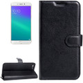 Black Premium Litchi Wallet Textured Wallet Case For Oppo R9S Plus - 2