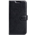 Black Premium Litchi Wallet Textured Wallet Case For Oppo R9S Plus - 3