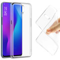 Clear Ultra Slim Soft Gel Case Cover Protector For Oppo R17 - 2
