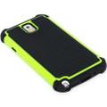 Green Samsung Galaxy Note 3 Heavy Duty Defender Case - 4