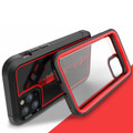 Red Military Defender Armor Shock Proof Case For iPhone 11 Pro - 2