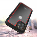Red Military Defender Armor Shock Proof Case For iPhone 11 Pro - 4