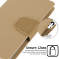 Shiny Gold Genuine Mercury Sonata Diary Wallet Case For iPhone 11 Pro - 4