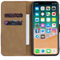 Black Genuine Leather Premium Business Wallet Case For iPhone 11 - 1