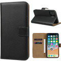 Black Genuine Leather Premium Business Wallet Case For iPhone 11 - 2