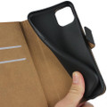 Black Genuine Leather Premium Business Wallet Case For iPhone 11 - 3