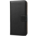 Black Genuine Leather Premium Business Wallet Case For iPhone 11 - 5