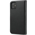 Black Genuine Leather Premium Business Wallet Case For iPhone 11 - 6