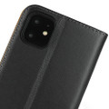 Black Genuine Leather Premium Business Wallet Case For iPhone 11 - 7