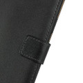 Black Genuine Leather Premium Business Wallet Case For iPhone 11 - 8