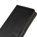 Black Genuine Leather Premium Business Wallet Case For iPhone 11 - 9