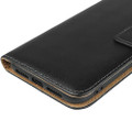 Black Genuine Leather Premium Business Wallet Case For iPhone 11 - 10
