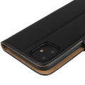 Black Genuine Leather Premium Business Wallet Case For iPhone 11 - 11