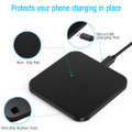 Fast Qi Wireless Charger Phone Charging Base Pad - GY-118 Metal Square - 10