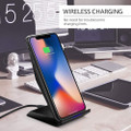 Fast Wireless Charger Qi-Certified 10W Wireless Charging Stand - 2