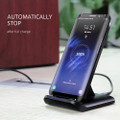 Fast Wireless Charger Qi-Certified 10W Wireless Charging Stand - 3
