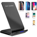 Fast Wireless Charger Qi-Certified 10W Wireless Charging Stand - 5
