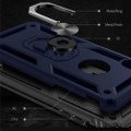 Navy 360 Rotating Metal Ring Shock Proof Stand Case for iPhone 8 Plus - 4
