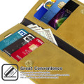 Gold iPhone 11 Pro Mercury Mansoor Diary Card Holder Wallet Case - 3
