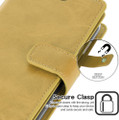 Gold iPhone 11 Pro Mercury Mansoor Diary Card Holder Wallet Case - 4