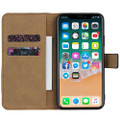 Black Genuine Leather Business Wallet Case For iPhone 11 Pro MAX - 2