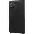 Black Genuine Leather Business Wallet Case For iPhone 11 Pro MAX - 5