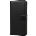 Black Genuine Leather Business Wallet Case For iPhone 11 Pro MAX - 6