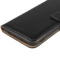 Black Genuine Leather Business Wallet Case For iPhone 11 Pro MAX - 8
