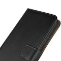 Black Genuine Leather Business Wallet Case For iPhone 11 Pro MAX - 11