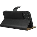 Black Genuine Leather Business Wallet Case For iPhone 11 Pro MAX - 12