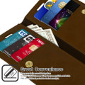 Brown iPhone 11 Pro MAX GenuineMercury Mansoor Diary Wallet Case - 3