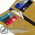 Stylish Gold iPhone 11 Pro MAX Mercury Mansoor Diary Wallet Case - 3