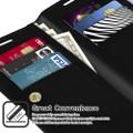 Black Galaxy S20 Genuine Mercury Mansoor Wallet Case Cover - 2