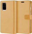 Gold Galaxy S20+ / S20+ 5G Genuine Mercury Mansoor Wallet  Case - 4