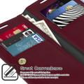 Classy Wine Mercury Mansoor Wallet  Case For Galaxy S20+ / S20+ 5G - 5