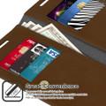 Brown Galaxy S20 Ultra Genuine Mercury Mansoor Wallet Card Case - 3