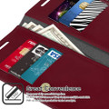 Classy Wine Galaxy S20 Ultra Genuine Mercury Mansoor Wallet Case - 2
