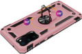 Galaxy S20+ Plus Rose Gold 360 Rotating Metal Ring Armor Stand Case - 2