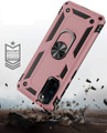 Galaxy S20+ Plus Rose Gold 360 Rotating Metal Ring Armor Stand Case - 3