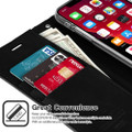 Black  Mercury Mansoor Diary Wallet Case For iPhone 11 Pro Max - 2