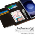 Brown Genuine Mercury Rich Diary Wallet Card Case For Galaxy S20 Ultra - 4