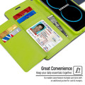 Premium Navy Mercury Rich Diary Wallet Card For Galaxy S20 Ultra - 2