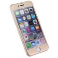 Gold iPhone 6 / 6S Metal Frame Tempered Glass Screen Guard - 3