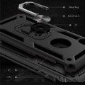 Black 360 Rotating Metal Ring Armor Stand Case for iPhone 8 Plus - 6