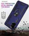 Navy Heavy Duty 360 Rotating Metal Ring Stand Case For Galaxy A51 - 2