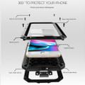 Apple iPhone XR Water Resistant Heavy Duty Full Body Metal Case - 7