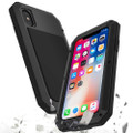 Apple iPhone XS Max Water Resistant Heavy Duty Full Body Metal Case - 1
