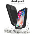Apple iPhone XS Max Water Resistant Heavy Duty Full Body Metal Case - 5